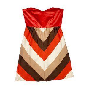 Judith March Strapless Dress